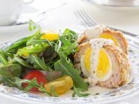 Pečená pštrosí vejce Eggs, Breakfast, Food, Morning Coffee, Egg, Meals, Yemek, Eten