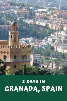 Granada is a beautiful city in the Andalusia in Spain. The reason many visit is the Alhambra, but there is so much more to see and do there.