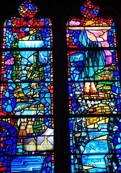 Washington National Cathedral - Native American Stained Glass Window | Flickr - 相片分享!