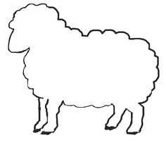Printable Sheep Template | Jos Gandos Coloring Pages For Kids   ClipArt  Best   ClipArt Best
