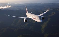 Qatar Airways is set to launch a brand new Qsuite onboard its Boeing aircraft. New Aircraft, Passenger Aircraft, Military Aircraft, Boeing 787 Dreamliner, Boeing 787 8, Trains, Vietnam Airlines, Cargo Airlines, Air Show