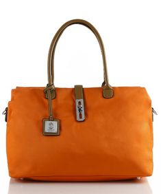 Noble Mount Oversized 'Arizzo' Handbag – Orange