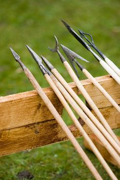 Medieval Arrowheads by alexstanhope, via Flickr