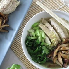 Chicken Pho [Paleo-AIP-Gluten-Free] | A Squirrel in the Kitchen