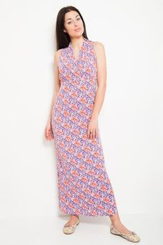 Mini Flora maxi dress
