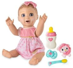 luvabella doll blonde interactive true to like baby doll this post contains an baby christmas giftschristmas toyschristmas 2017babies