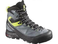 Scarpe Scarponcini Escursionismo Trekking SALOMON X ALP MTN GTX® BLACK  GECKO UK 10.5 - 45 32f00ac40d3