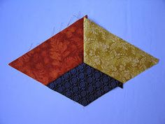 PATCHWORK ARTE EM TECIDOS: CUBO TRIDIMENSIONAL Easy Quilt Patterns, Pattern Blocks, Crochet Patterns, Tumbling Blocks Quilt, Quilt Blocks, Cute Quilts, Easy Quilts, Optical Illusion Quilts, Foundation Paper Piecing