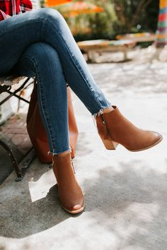 9e99c455264 32 Delightful brown ankle boots outfit images