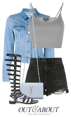 """""""Apr 3rd (tfp) 1268"""" by boxthoughts ❤ liked on Polyvore featuring Acne Studios, Alexander Wang, Topshop, Yves Saint Laurent, Stuart Weitzman and tfp"""