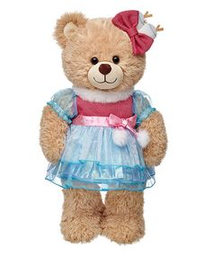 Mittens Fluff 'N' Stuff™ Outfit 2 pc.: Dress your friend in a Mittens Fluff 'N' Stuff™ Lalaloopsy Dress for a Super Silly… Custom Teddy Bear, Build A Bear Outfits, Boyds Bears, Teddy Bears, Presents For Girls, Bear Toy, Cute Bows, Cute Stickers, Mittens
