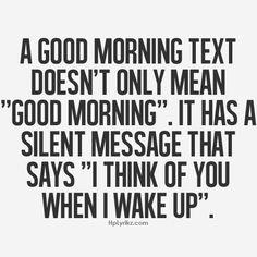 """Sag einem lieben Menschen persönlich, mit einem Anruf oder SMS """"Guten Morgen!"""""""