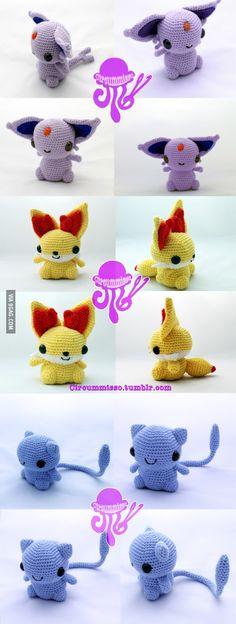 More Crocheted Pokemon!