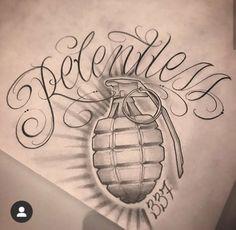 Tattoo Writing Fonts, Tattoo Lettering Styles, Tattoo Design Drawings, Tattoo Sleeve Designs, Ink Master Tattoos, Body Art Tattoos, Hand Tattoos, Chicano, Crown Hand Tattoo