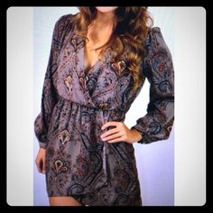Un-leaf-able Dress LG This is a cute dress! Perfect for fall/winter! Honey Belle Dresses Long Sleeve
