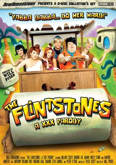 The Flinstones Porn. A very crazy version of Fred with a very hot  Flinstones family