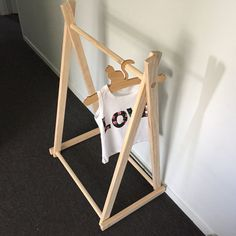 Small Garment Rack Market Display A Frame Clothing Rack for