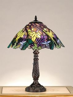 Just added this stained glass Tiffany's style slag lap to my wish list.