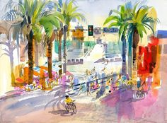 A California art print on Arches watercolor paper. 100% archival, and printed in HD.Literature: As seen in KEN POTTER, by Gordon T. McClelland and Austin D. McClelland.