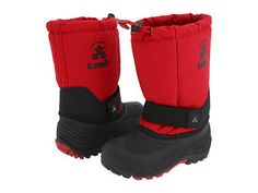 Kamik Rocket Snow Boot in Red -  - Little Feet Childrens Shoes