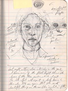 Jerome Witkin Sketchbook: The Act of Judith