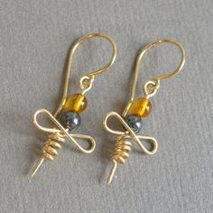 Wire earrings ispiration