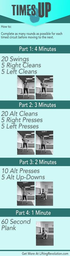awesome 3 Body Toning 10 Minute Kettlebell Workouts