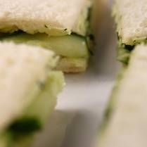 English Tea Sandwiches - Cucumber