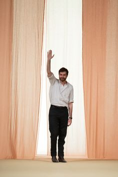 Hermès Spring 2015 Ready-to-Wear Fashion Show - Christophe Lemaire