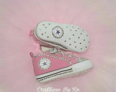 Baby bling converse | Etsy