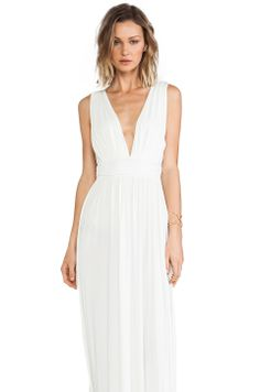 Lovers + Friends Helena Maxi Dress in White from REVOLVEclothing