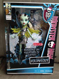 Monster High Power Ghouls FRANKIE STEIN Voltageous!!!!!!!!