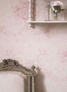 Kate Forman Pink Sophia Wallpaper