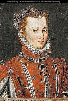 Portrait of the Duchess of Medina - (after) Anthonis Mor Van Dashorst #DuchessofMedina #VanDashorst #VonGiesbrechtJewels