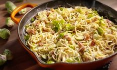 Pasta Recipes, Dinner Recipes, Pasta Noodles, Bon Appetit, Slow Cooker, Cabbage, Good Food, Easy Meals, Food And Drink