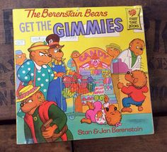 Vintage Estate 1988 The Berenstain Bears Get The by MADVintology, $2.00