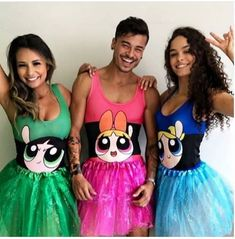 Halloween Costume Ideas That Are Guaranteed To Impress Two Person Halloween Costumes, Halloween Outfits, Cute Costumes, Super Hero Costumes, Powerpuff Girls Costume, Halloween Kleidung, Halloween Disfraces, Cosplay, Blog