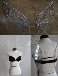 Symphonia: Disney-Feen-Flügel-Tutorial - Animexx.de (Costume Diy Ideas)