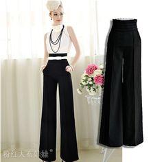 wide leg pants outfit ideas - Pi Pants