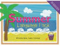 Free! Summer Language Pack
