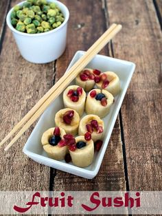 Fruit Sushi - Banana