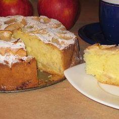 W środku i na wierzchu, czyli ucierane ciasto z jabłkami :) - DoradcaSmaku.pl