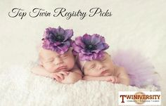 Are you stressing out over your twin registry? We polled our fans to find their favorite products to get ready for twins!