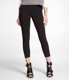 I've heard express has the BEST leggings, which, for me are a staple for school, because I can pair them with a long shirt, cute shoes, and be out the door in literally minutes. #17college