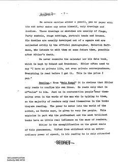 CIA- declassified biography of Hitler
