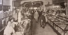 1920 department store shopping