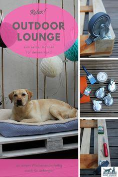 Hundebett | Outdoorbett für Hunde | DIY | selber machen | Wochenendprojekt