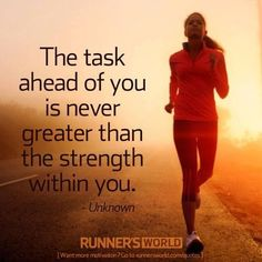 You have the strength!