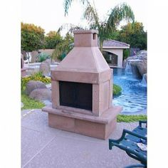 Product Spotlight: Perfect Outdoor Fireplace Kits http://www.mantelsdirect.com/mantel-blog/Product-Spotlight-Perfect-Outdoor-Fireplace-Kits #backyard #patio #products