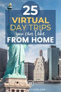Stuck at home and want to travel? Here are 25 popular tourist spots around the United States, Canada, and the world that you can visit virtually from your computer! Virtual Travel, Virtual Tour, Virtual Class, Educational Activities, Learning Activities, Kids Education, French Education, History Education, Teaching History